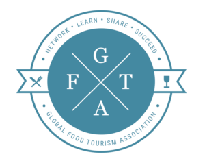 GFTA logo, Global Food Tourism Association