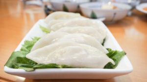 Steamed Mandu Dumplings at Koreana Restaurant