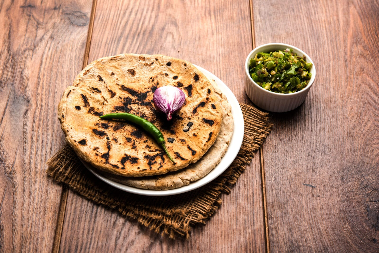 4 Indian Flatbreads that Use Gluten Free Grains You Can Find in Dubai