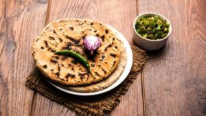 Jowari Roti - Sorghum Flour Flat Bread