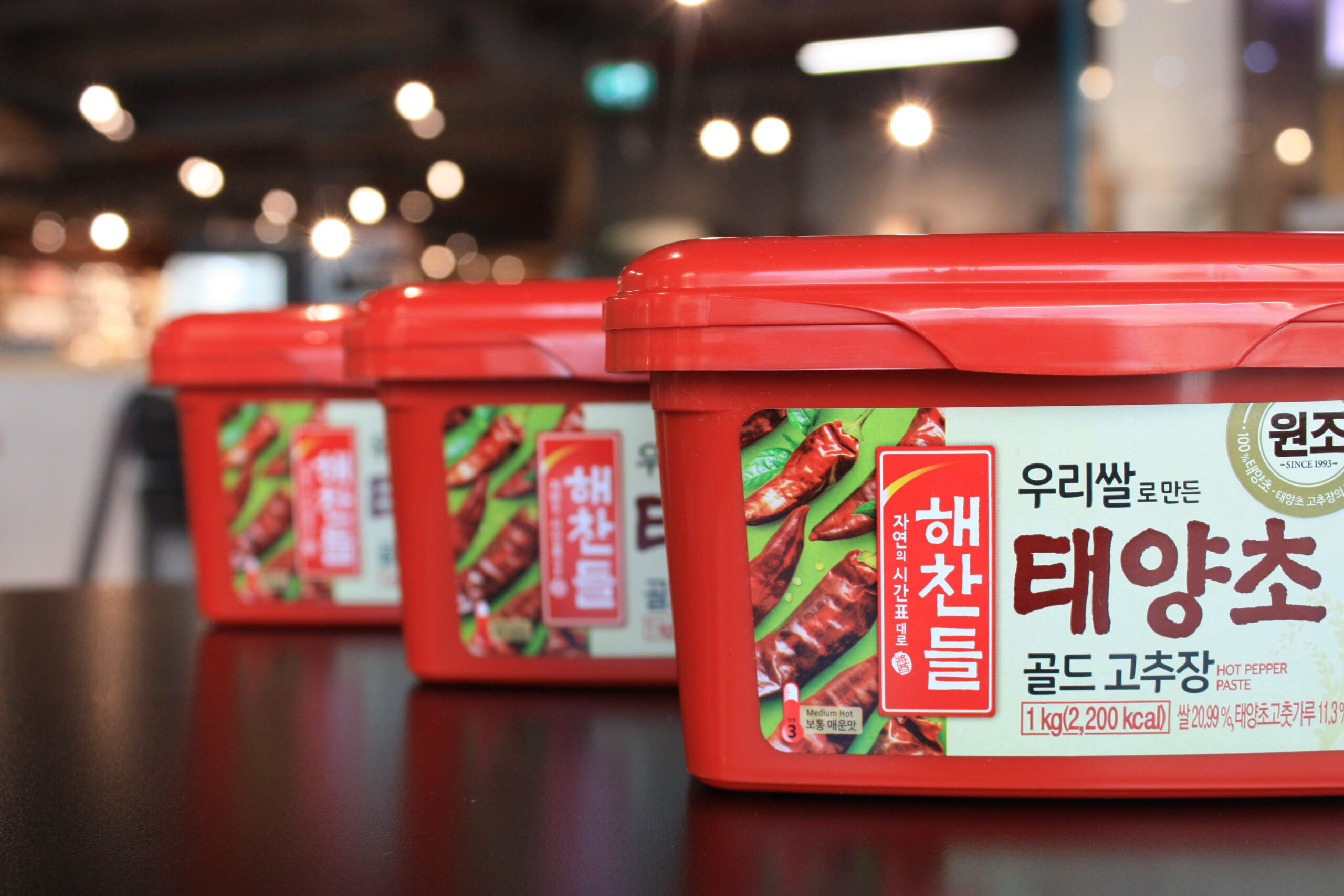 Packs of Korean Gochujang